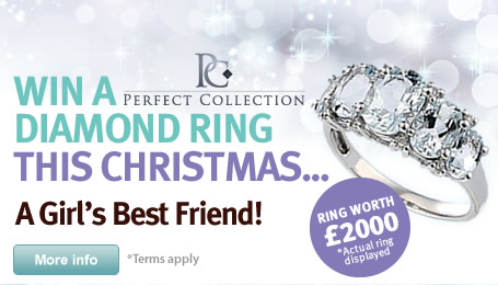 WIN a diamond ring: This Christmas