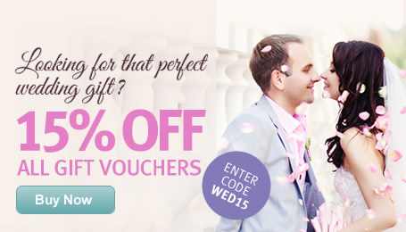 Wedding Gifts</br> 15% OFF all Vouchers