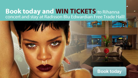 Book Today <br />For a Chance to See Rihanna